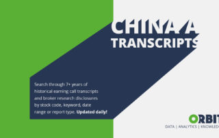 China A Transcripts